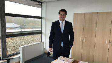 A 27 ans, Pierre Lambrette est le nouveau président du CPAS de Braine-l'Alleud.