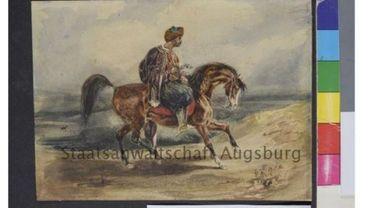 Capture d'écran d'un Delacroix sur le site