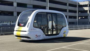Un bus électrique… qui roule tout seul à Zaventem