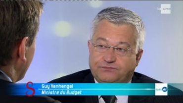 Guy Vanhengel, ministre sortant du Budget, Open Vld