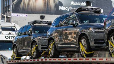 Les voitures autonomes de Uber pas si autonomes que ça