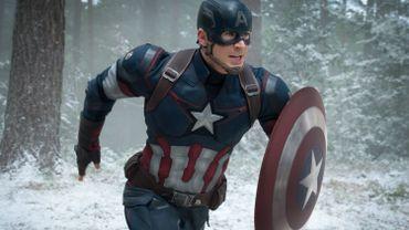 """Chris Evans dans """"Avengers: L'Ère d'Ultron"""""""