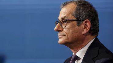Giovanni Tria, ministre de l'Economie et des Finances italien
