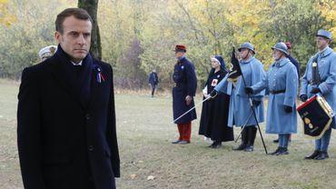 Emmanuel Macron procède à une tournée mémorielle, cette semaine dans l'Est et le Nord de la France, théâtres d'affrontements lors de la Grande Guerre.