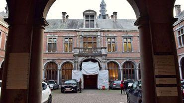 Fin novembre, l'Inspection sociale a ordonné la fermeture du premier étage du Palais de justice de Namur.