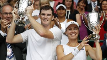 Martina Hingis et Jamie Murray gagnent le double mixte