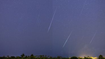 Les Léonides : une pluie d'étoiles filantes dans le ciel en novembre