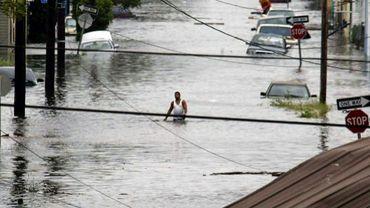 La Nouvelle-Orléans frappée par l'ouragan Katrina, le 29 août 2005