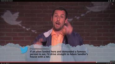 """Capture d'écran de """"Celebrities Read Mean Tweets #8"""" de l'émission télé Jimmy Kimmel Live"""