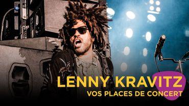 Vos places pour le concert de Lenny Kravitz