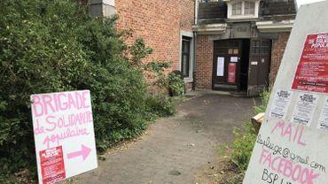 """L'(ancienne """"Maison Heureuse"""" de Bressoux, centre logistique d'une brigade de solidarité populaire"""