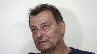 Cesare Battisti le 20 octobre 2017 à Cananéia au Brésil