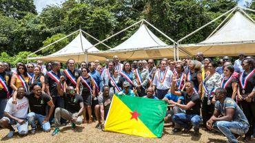 Les maires de Guyane rassemblés à Kourou le 25 mars 2017