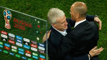 Didier Deschamps et Roberto Martinez