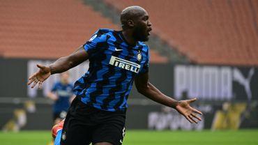 Romelu Lukaku buteur contre l'AC Milan.