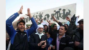 Manifestation le 23 février 2011 à Bagdad
