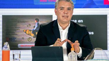 Ivan Duque, président de la Colombie.