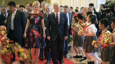 La présence du couple royal en Chine est une excellente carte de visite pour les entreprises belges