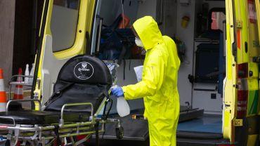 Coronavirus à Bruxelles:  le déploiement des ambulances Covid-19 revu à la baisse