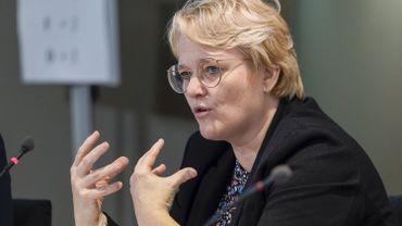 Nathalie Muylle (CD&V), ministre fédérale de l'Économie.