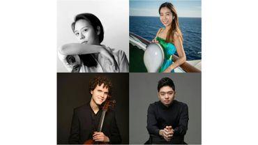 Seungmin Kang, JeongHyoun (Christine) Lee, Jonas Palm et James Jeonghwan Kim