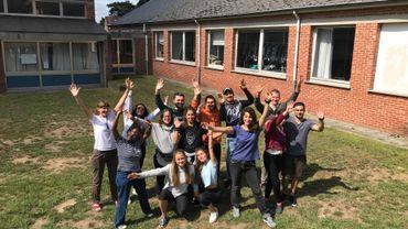 Rixensart: des jeunes participent à un chantier international au centre Fedasil
