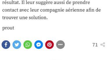 """""""Prout"""" dans nos articles : que s'est-il passé?"""