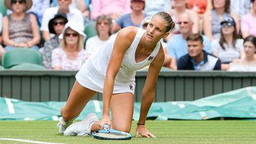 Wimbledon: Pliskova éliminée en huitièmes de finale par Bertens