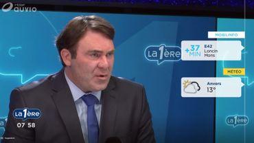 Le ministre fédéral de l'agriculture et des PME Denis Ducarme ce lundi matin sur La Première
