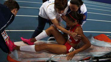 Allyson Felix blessée lors de la finale du 200m