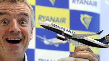 Michael O'Leary, le fantasque patron de Ryanair.