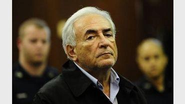 Dominique Strauss-Kahn lors de sa comparution au tribunal de New York, le 16 mai 2011