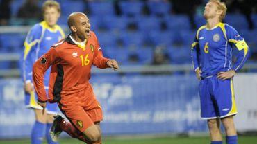 KAZACHSTAN SOCCER RED DEVILS EURO 2012 QUAL BELGIUM - KAZACHSTAN