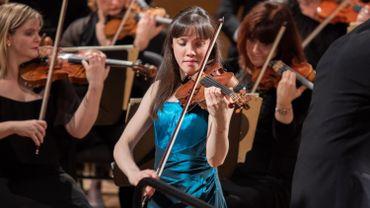 Sylvia Huang en Finale du Concours Reine Elisabeth