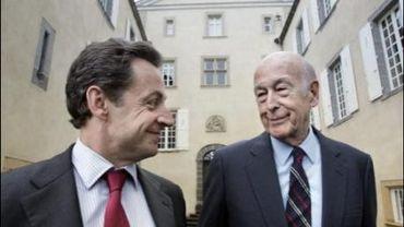 Sarkozy - Giscard