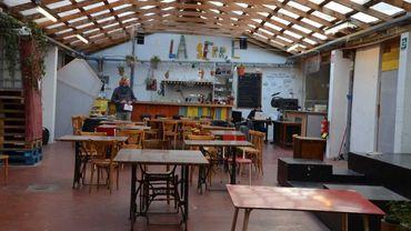 La Serre, à Ixelles, un bâtiment occupé temporairement par l'asbl Communa, est devenu un espace de cohésion sociale