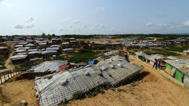Un camp de réfugié Rohingyas