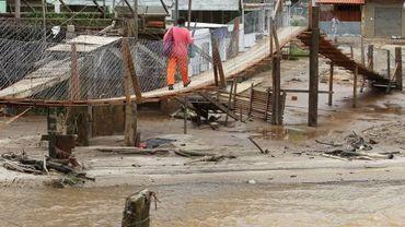 Pluies diluviennes au Brésil