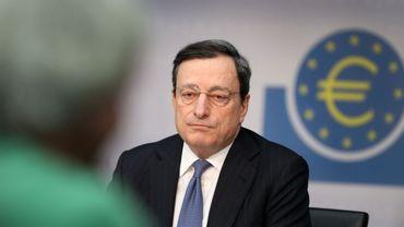 Mario Draghi (BCE) pensent que les mesures non conventionnelles commencent à porter leurs fruits