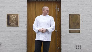 Le chef Heston Blumenthal du Fat Duck