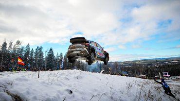 La Hyundai i20 WRC de Thierry Neuville en 2016