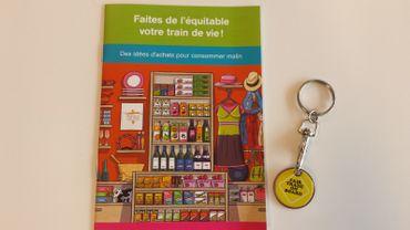 Semaine du commerce équitable: action de sensibilisation à Liège