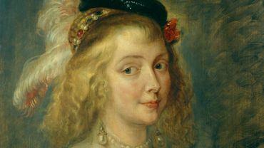 Pierre Paul Rubens (atelier de?), Portrait d'Hélène Fourment, 1640, Musées Royaux des Beaux-Arts de Belgique, inv. 4003