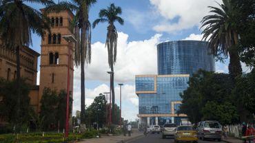 Vue de Lubumbashi, en RDC, le 13 janvier 2021