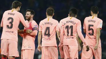 La joie des Barcelonais