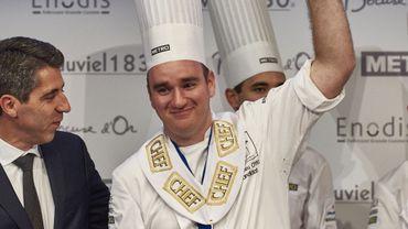 Le jeune chef Matthieu Otto représentera la France au Bocuse d'Or le 30 janvier prochain