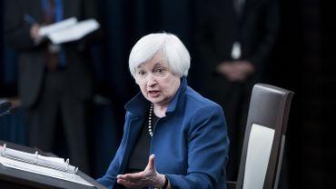 Travail des femmes: les USA devraient suivre l'exemple européen, plaide Janet Yellen