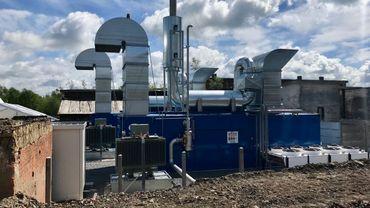 Unité de production d'électricité à partir du grisou à Anderlues