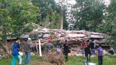 """L'Indonésie est située sur la """"ceinture de feu"""" du Pacifique. Un séisme dans la province indonésienne d'Aceh en décembre 2016 avait fait plus de cent morts."""