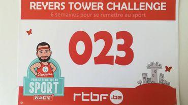 Cyril réussi l'ascension de la tour Reyers!